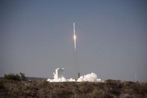 11 Février lors du lancement de la fusée